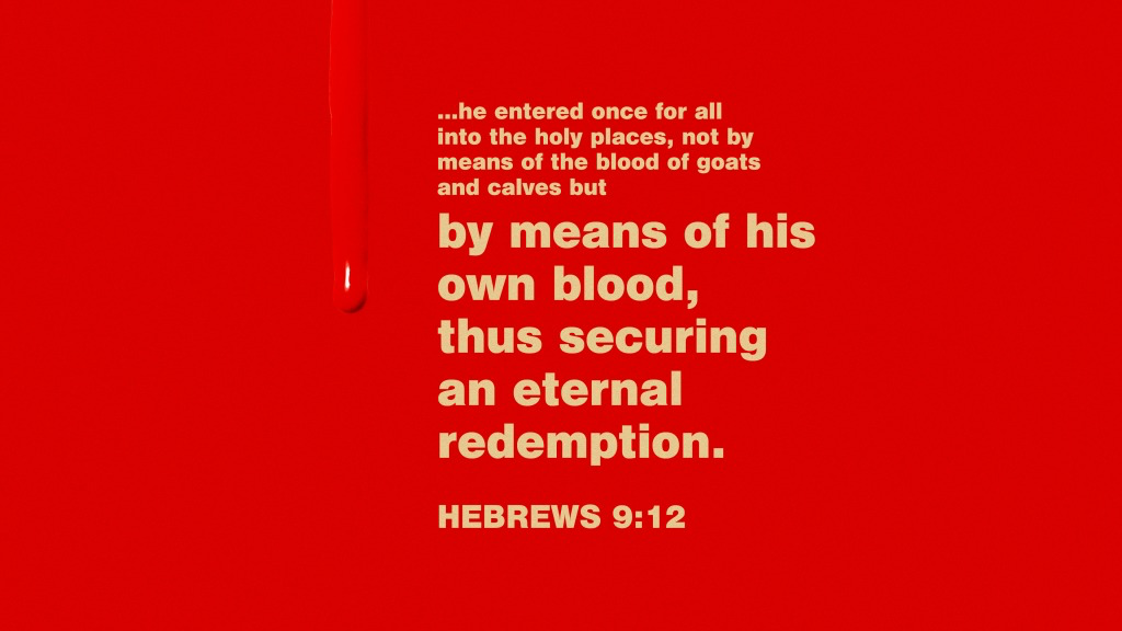 what can wash, hebrews 9:12
