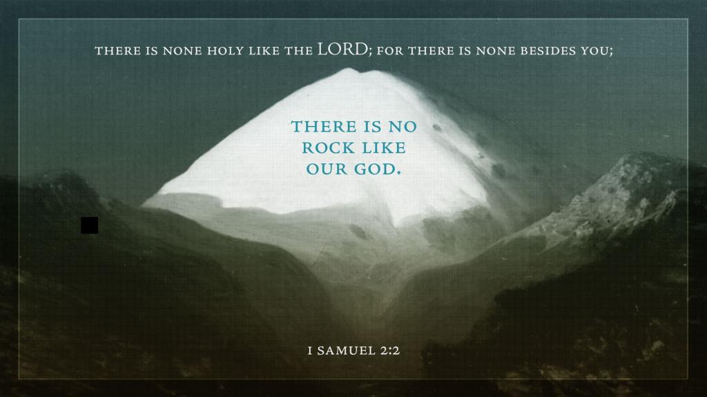 the lovely life, 1 samuel 2:2